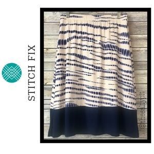 NWT Hailey 23 for Stitch Fix Swing Skirt, Sz Med